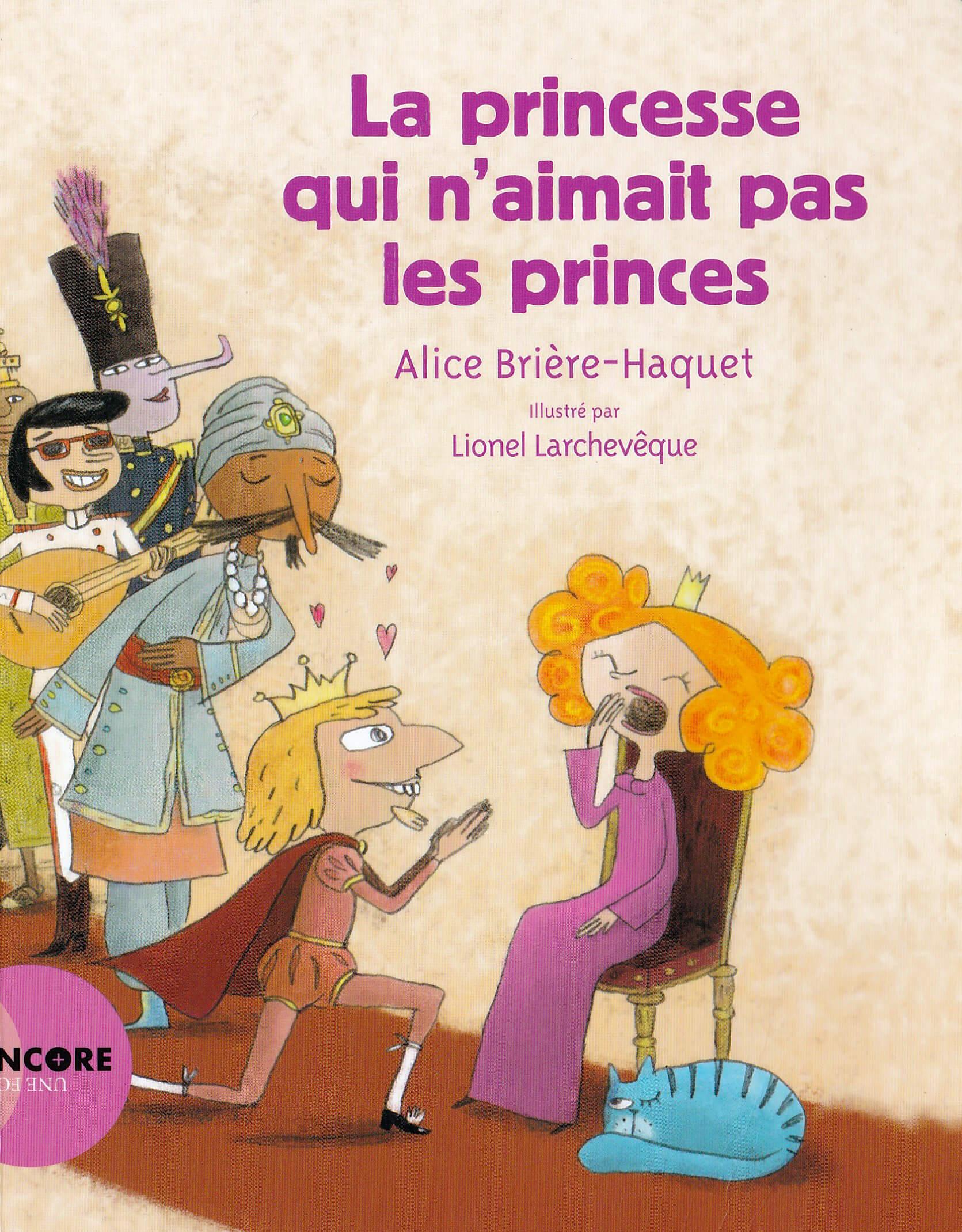 la princesse qui naimait pas les princes